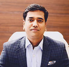 3 Mr Gaurav Raj – Managing Director